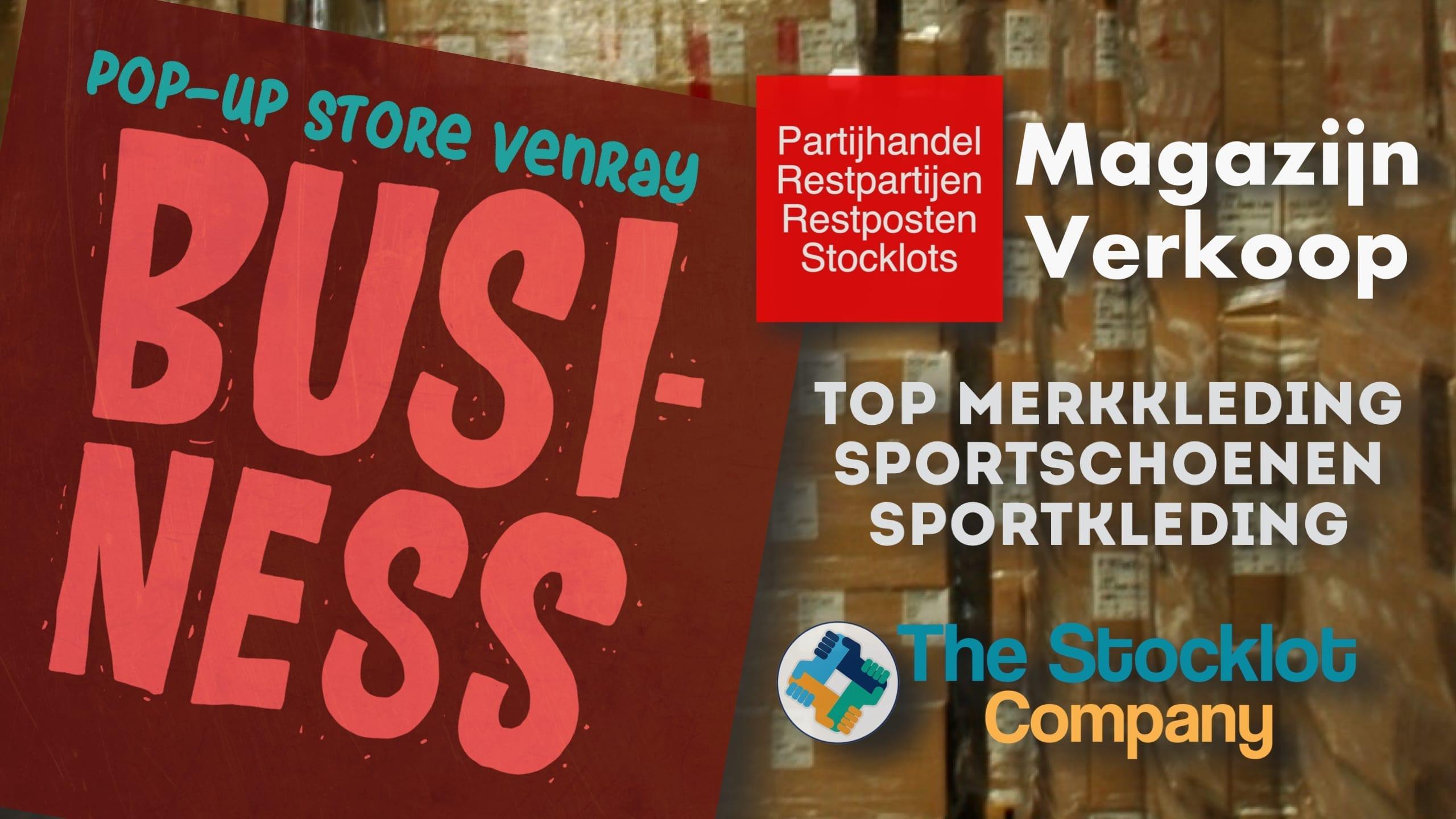 Pop Up Store Venray Nieuw!